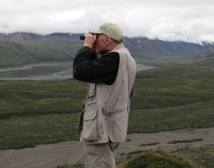 Binoculars were a must have in Alaska